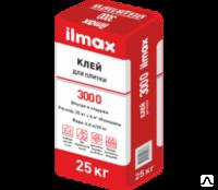 Клей для плитки Илмакс 3000 универсальный, мешок 25 кг.