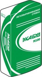 Экабуд М100 - Легко выравниваемая стяжка, 2-100мм, для наружных и внутренних работ, 25кг, РБ